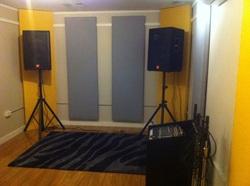 Yellow rehearsal studio